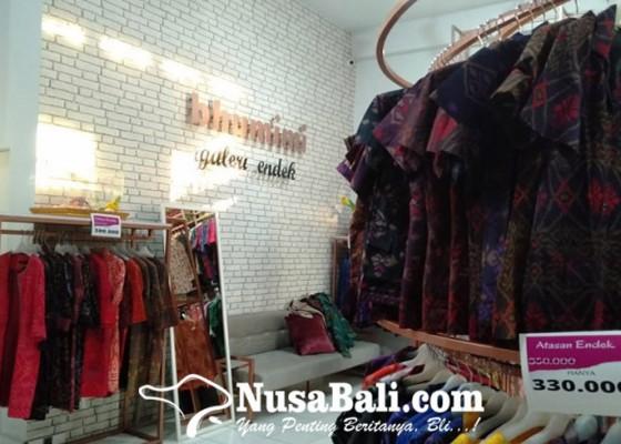 Nusabali.com - sambut-se-busana-endek-toko-busana-mulai-diserbu-pembeli