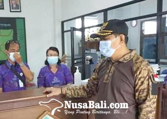 Nusabali.com - wabup-kasta-cek-kesiapan-satgas-pencegahan-covid-19