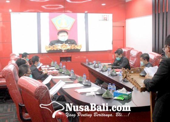 Nusabali.com - akhir-masa-jabatan-bupati-artha-sampaikan-lkpj-tahun-2020