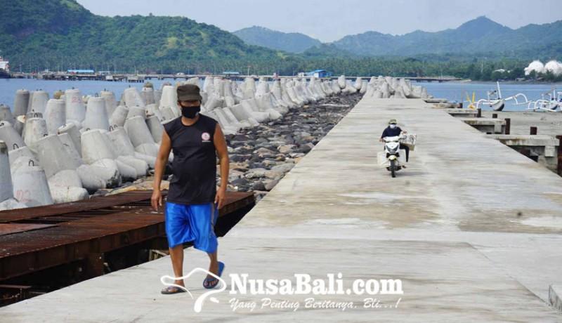 www.nusabali.com-dermaga-jetty-ramdor-tertimbun-sedimen-7-meter