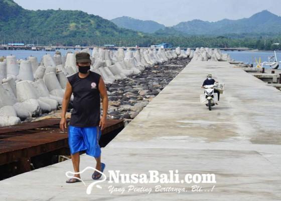 Nusabali.com - dermaga-jetty-ramdor-tertimbun-sedimen-7-meter