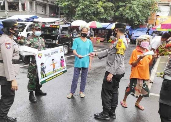 Nusabali.com - ppkm-diperpanjang-tnipolri-di-tabanan-makin-gencar-awasi-prokes
