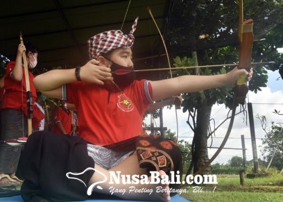 Nusabali.com - pandemi-lomba-panahan-tradisional-hanya-ikutsertakan-40-peserta