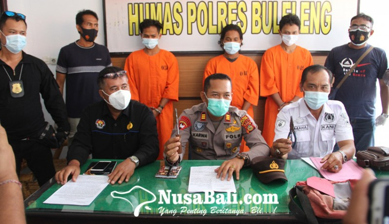 www.nusabali.com-polisi-bekuk-komplotan-pencuri-peralatan-bengkel