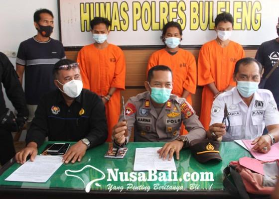 Nusabali.com - polisi-bekuk-komplotan-pencuri-peralatan-bengkel