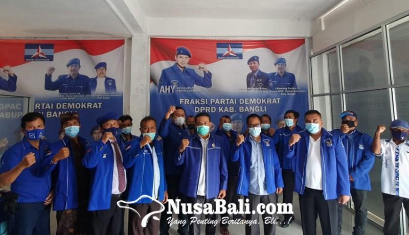 www.nusabali.com-dpc-partai-demokrat-bangli-nyatakan-loyal-kepada-ahy