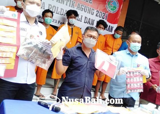 Nusabali.com - operasi-antik-agung-polda-gulung-72-tersangka-narkoba