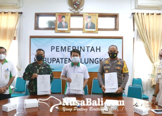 Nusabali.com - pemkab-gandeng-polres-dan-kodim-klungkung