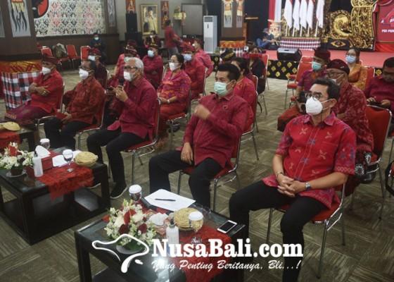 Nusabali.com - dpc-fraksi-pdip-se-bali-dukung-penggunaan-endek