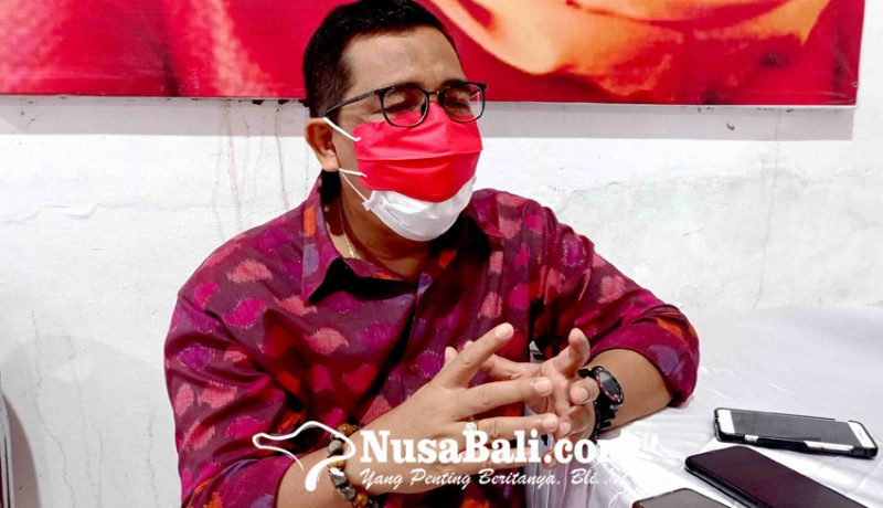 www.nusabali.com-dpc-pdip-tabanan-gagas-desain-endek-ciri-khas-kearifan-lokal