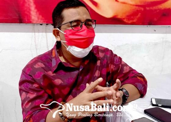 Nusabali.com - dpc-pdip-tabanan-gagas-desain-endek-ciri-khas-kearifan-lokal