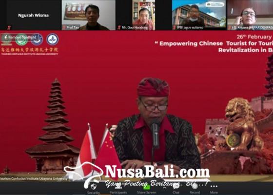 Nusabali.com - gelar-webinar-tci-unud-ingin-kembangkan-wisata-china-di-bali