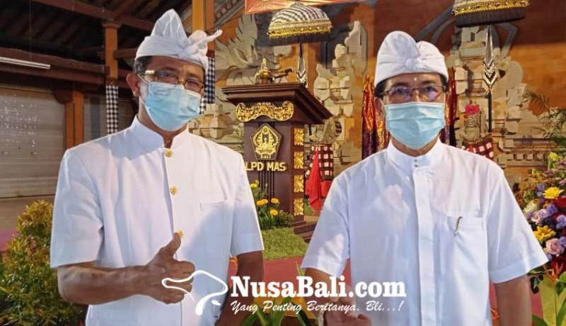 www.nusabali.com-bendesa-adat-mas-kantongi-sk-mda-bali