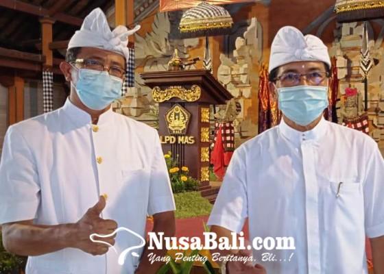 Nusabali.com - bendesa-adat-mas-kantongi-sk-mda-bali