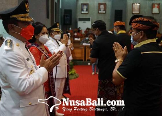 Nusabali.com - bupati-gede-dana-tekad-lenyapkan-pandemi