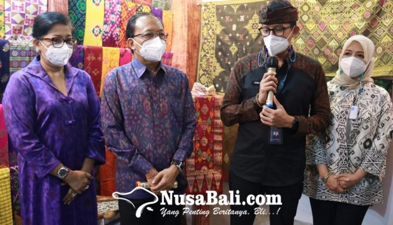 www.nusabali.com-menparekraf-sandiaga-uno-puji-pameran-ikm-bali-bangkit