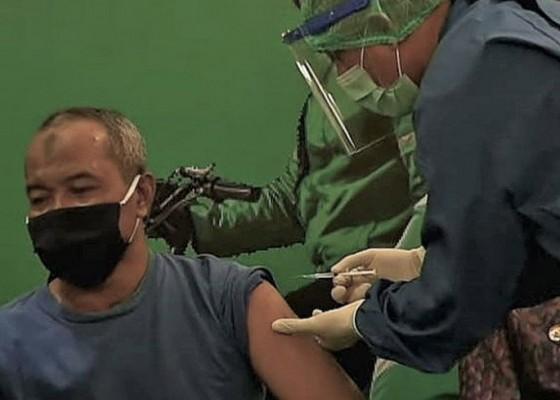 Nusabali.com - grab-vaccine-center-di-nusa-dua-mulai-layani-pekerja-pariwisata-hingga-ojol