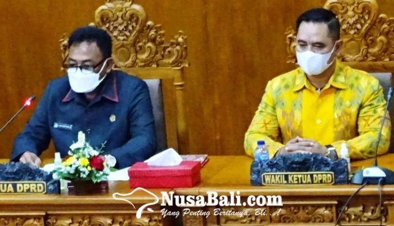 www.nusabali.com-wandhira-interupsi-sidang-untuk-bacakan-pantun-buat-jaya-wibawa