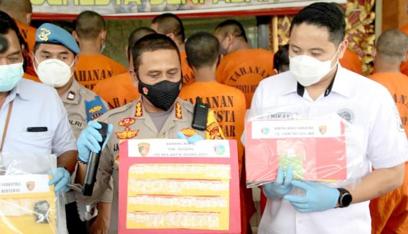 www.nusabali.com-satres-narkoba-polresta-denpasar-panen-tangkapan