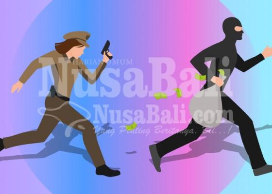 Nusabali.com - polisi-kantongi-identitas-perampok-spbu