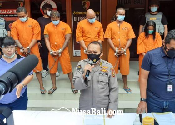 Nusabali.com - ancam-tembak-saat-tagih-utang-4-preman-diringkus