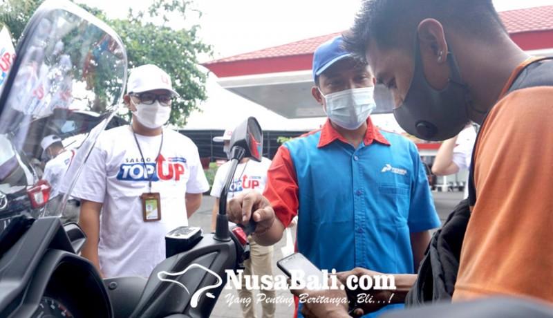 www.nusabali.com-pertamina-dorong-bayar-non-tunai