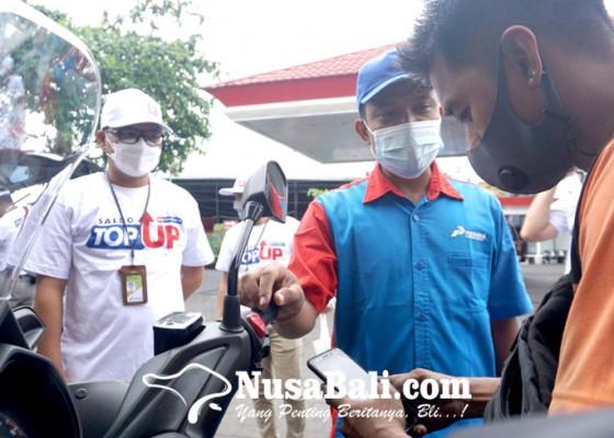 Nusabali.com - pertamina-dorong-bayar-non-tunai