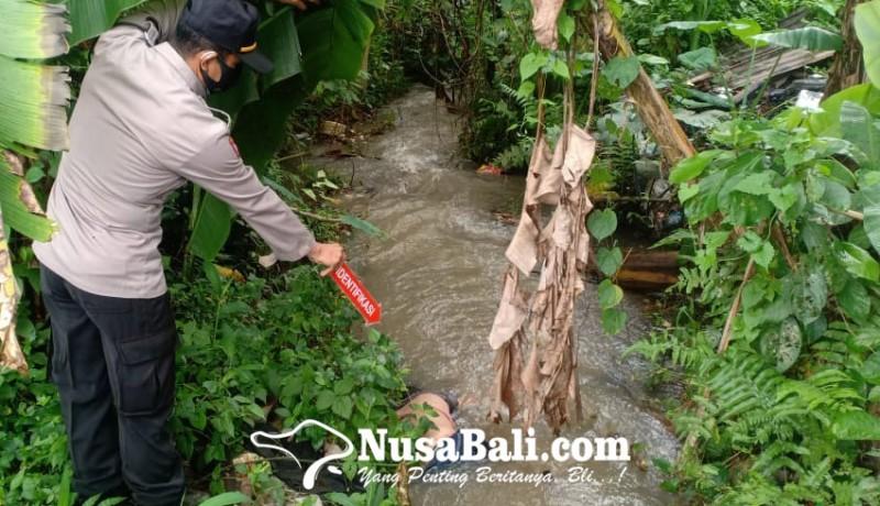 www.nusabali.com-jasad-wanita-di-saluran-irigasi-gegerkan-warga-buruan