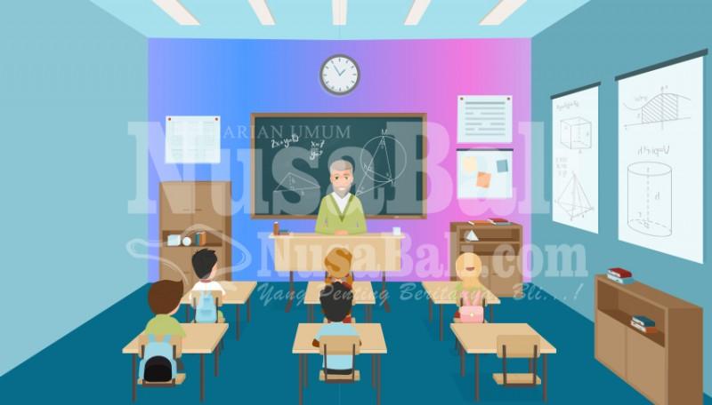www.nusabali.com-disdikpora-semprit-6-sekolah-spk