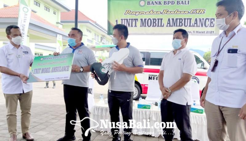 www.nusabali.com-bpd-bali-serahkan-ambulans-di-jembrana