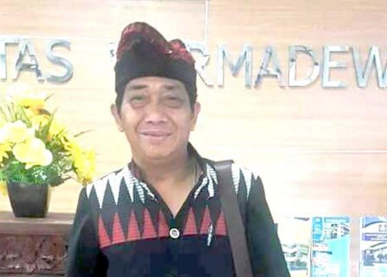 Nusabali.com - pelantikan-pengurus-koni-denpasar-gabeng