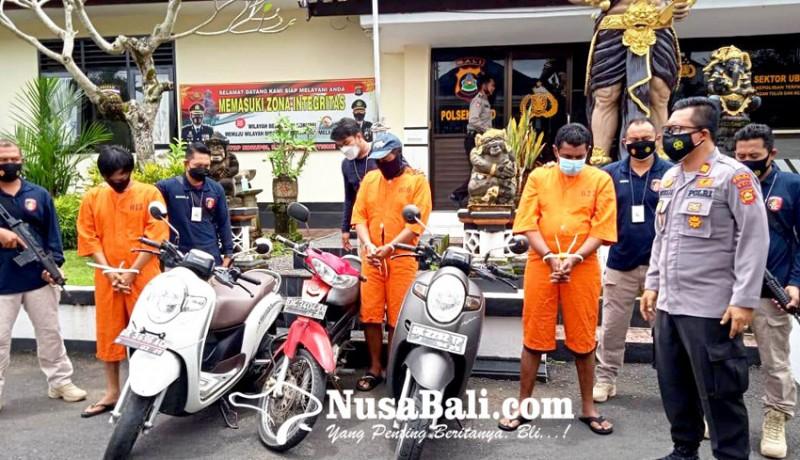 www.nusabali.com-polsek-ubud-gulung-komplotan-curanmor