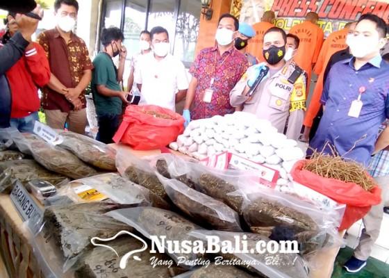 Nusabali.com - residivis-pencurian-jadi-tukang-tempel-shabu