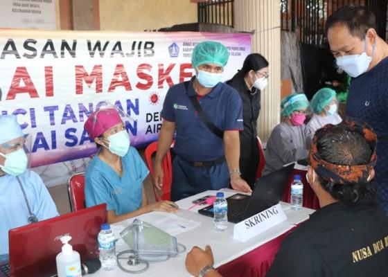 Nusabali.com - wabup-suiasa-pantau-pelaksanaan-vaksinasi