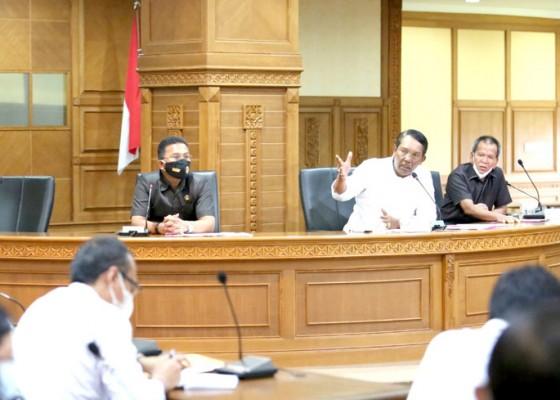 Nusabali.com - komisi-ii-dprd-badung-rakor-bersama-instansi-terkait
