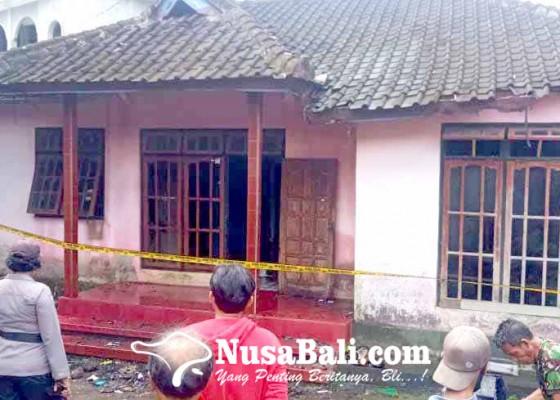 Nusabali.com - ditinggal-ke-pasar-rumah-terbakar