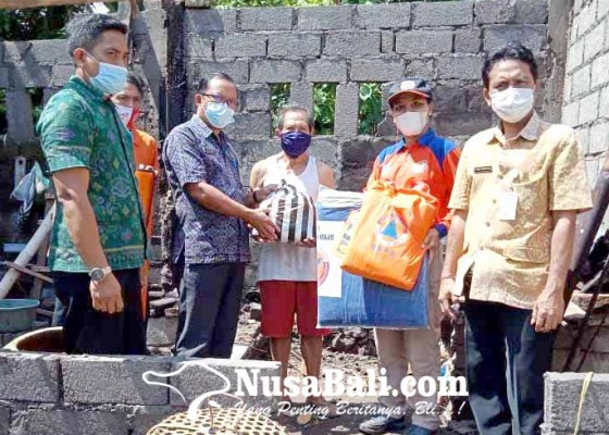 Nusabali.com - bpbd-karangasem-bantu-9-korban-pohon-tumbang