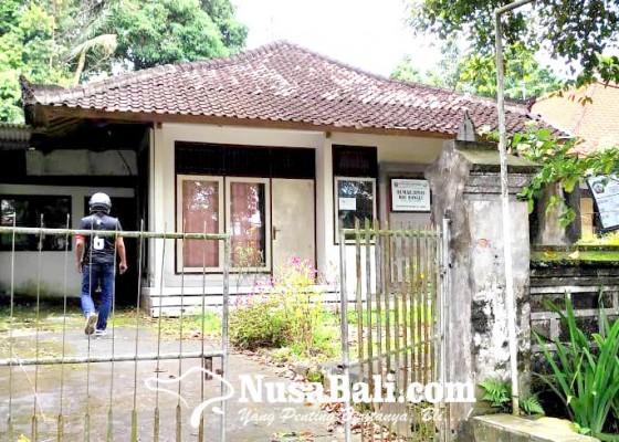 Nusabali.com - rumah-dinas-rsu-bangli-tak-ditempati
