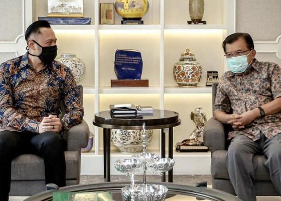 Nusabali.com - ketua-umum-demokrat-ahy-temui-jusuf-kalla