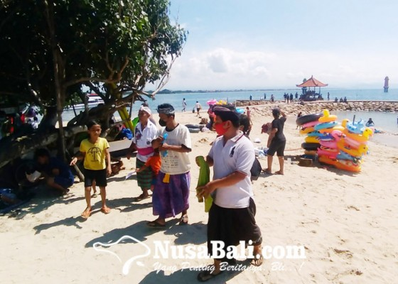 Nusabali.com - pantai-sanur-masih-jadi-favorit-warga-saat-ngembak-geni