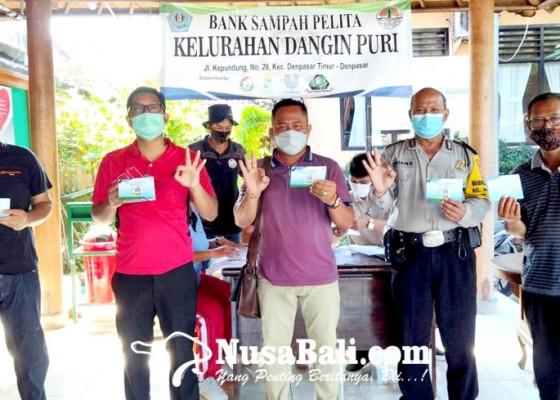 Nusabali.com - kelurahan-dangin-puri-luncurkan-bank-sampah-pelita