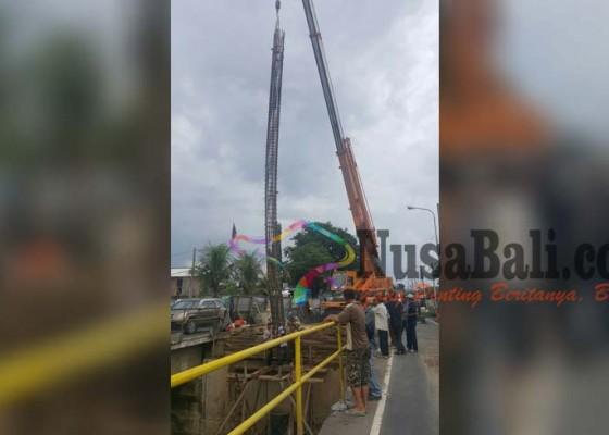 Nusabali.com - perbaikan-jembatan-tukadaya-dipastikan-molor