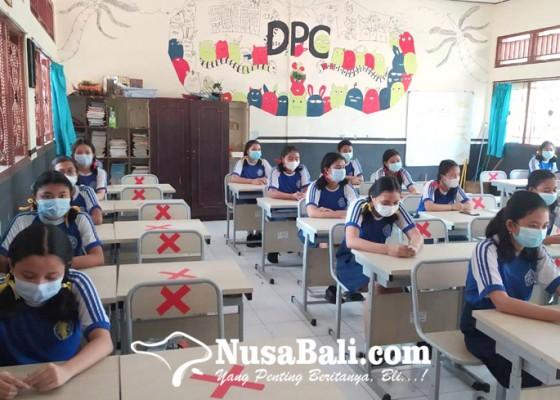 Nusabali.com - sekolah-matangkan-prokes-covid-19