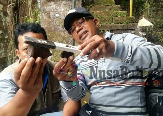 Nusabali.com - ditemukan-lagi-pecahan-gerabah-dalam-goa-misterius
