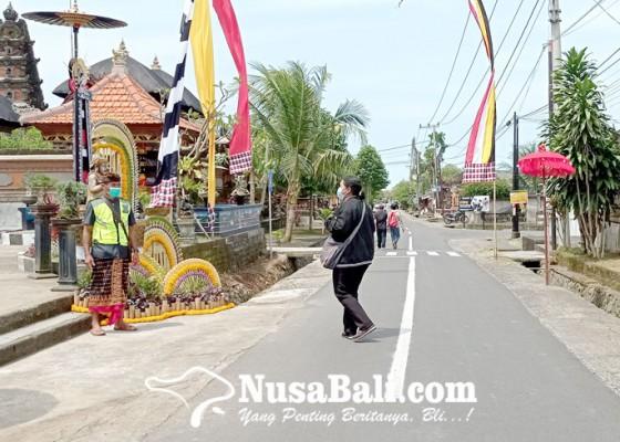 Nusabali.com - banjar-sanggulan-dijadikan-kampung-tertib-lalulintas