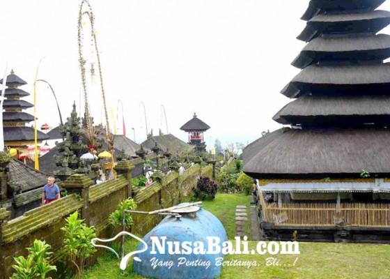 Nusabali.com - perumda-siagakan-persediaan-air-di-besakih