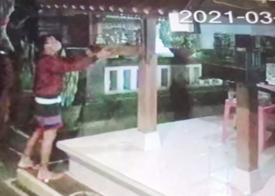 Nusabali.com - burung-warga-ketewel-hilang-terduga-pencuri-terekam-cctv
