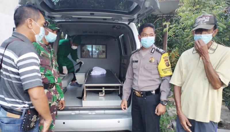 www.nusabali.com-mayat-bayi-ditemukan-dalam-kardus-di-pekarangan-rumah-warga