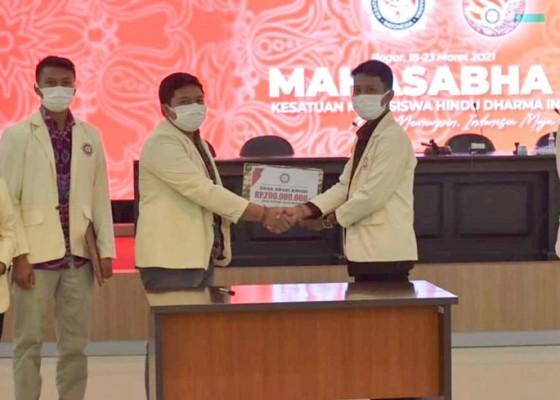 Nusabali.com - putu-yoga-terpilih-sebagai-ketua-presidium-pp-kmhdi