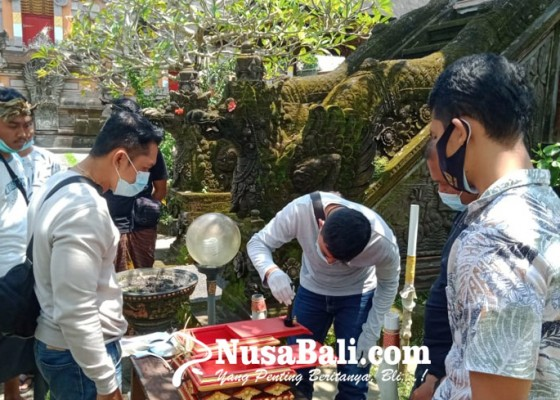 Nusabali.com - kemarin-pura-puseh-desa-adat-tegallantang-dibobol-bromocorah
